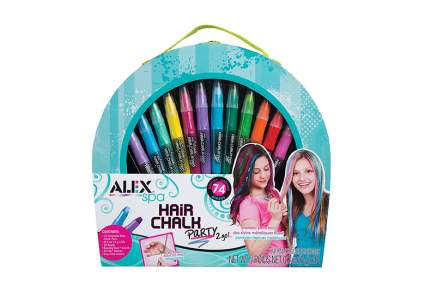 best hair chalk kit, temporary hair dye, hair chalk