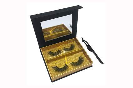 3d and 4d mink eyelash set