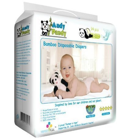 andy pandy disposable diapers, best disposable diapers, bamboo diapers, eco-friendly diapers