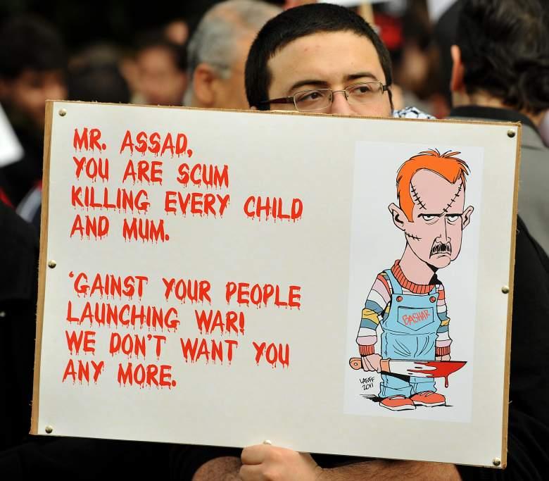 Bashar al-Assad, Syria, civil war, war crimes, chemical attack