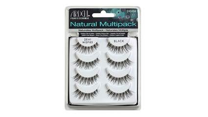 false eyelashes, fake eyelashes, mink eyelashes, mink lashes, Ardell demi wispies
