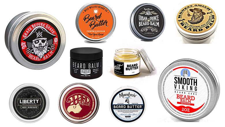 beard balms, beard butters, grooming