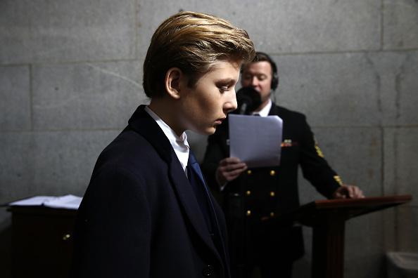 Barron Trump, Donald Trump, Donald Trump youngest son