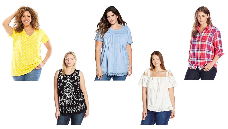 plus size tops, plus size shirts, plus size t shirts, plus size tank tops, plus size blouses