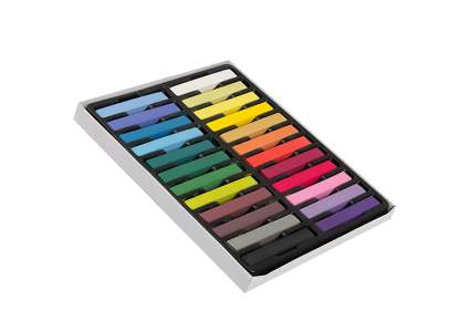 box of 24 rainbow chalk sticks