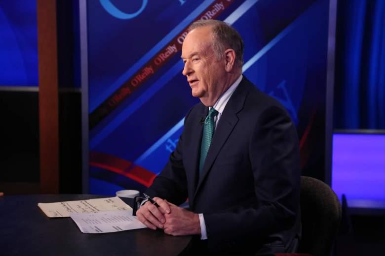 """Bill O'Reilly hosting """"The O'Reilly Factor"""""""