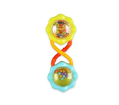 bright starts rattle, barbell rattle, baby rattles, best rattles