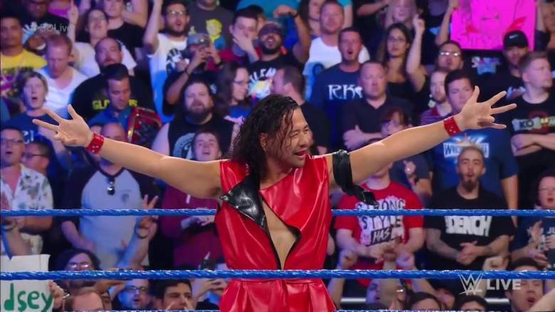 Shinsuke Nakamura, Shinsuke Nakamura smackdown, Shinsuke Nakamura wwe