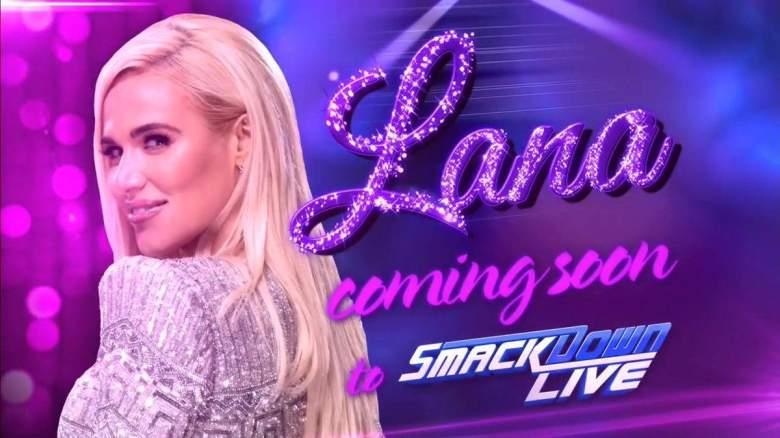 Lana wwe, Lana smackdown live, Lana smackdown live debut