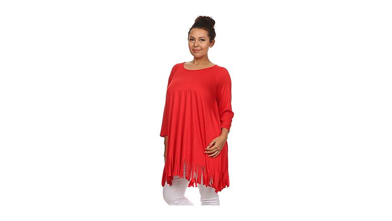 plus size tunics, plus size tops, plus size fashion, plus size clothing, canari