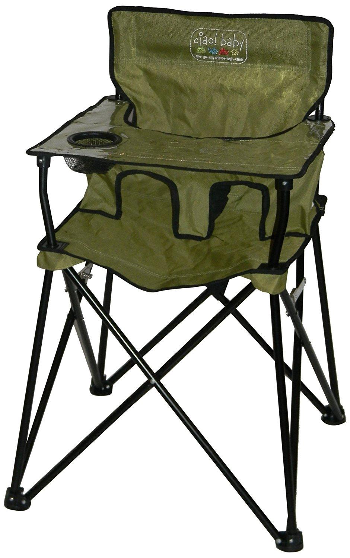 ciao baby portable high chair, portable high chair, travel high chair, camping high chair, best portable high chair, best travel high chair