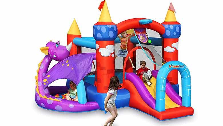dragon quest bounce house
