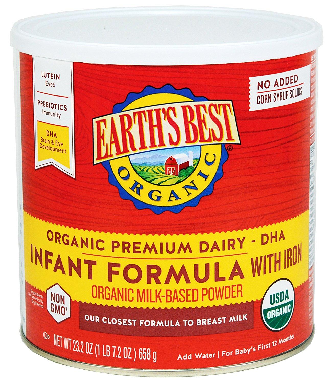 earth's best organic infant formula, best infant formula, organic infant formula