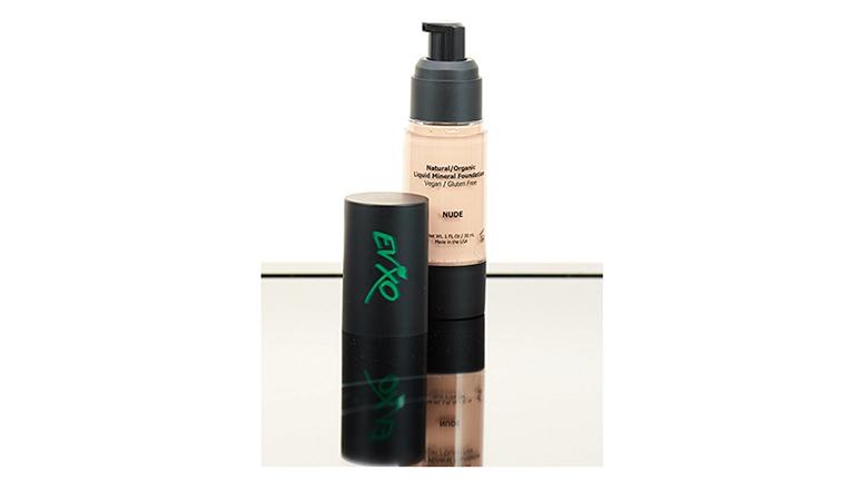natural makeup, organic makeup, natural cosmetics, evxo