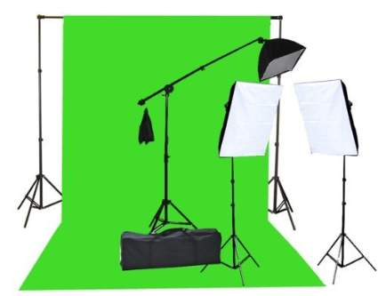Fancierstudio Chromakey Lighting Kit, photography lighting, studio lights, lighting kit