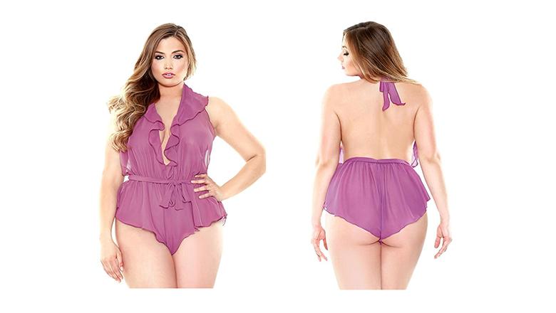 plus size lingerie, lingerie plus size, sexy plus size lingerie, plus size teddy, Fantasy Lingerie