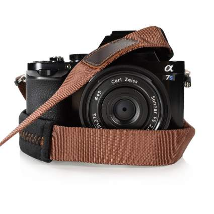 foto&tech leather camera strap, best leather camera strap, best camera strap, custom camera straps