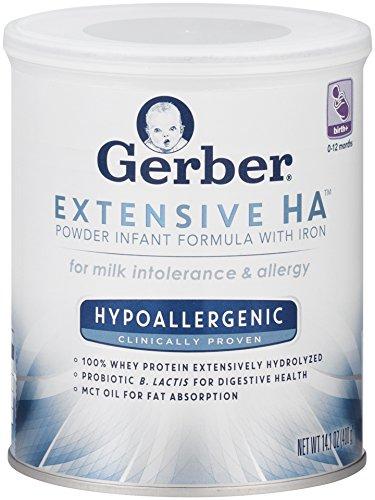 gerber extensive ha hypoallergenic formula, best infant formula