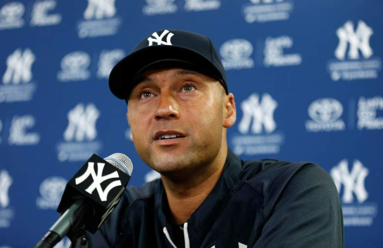 Derek Jeter press conference, Derek Jeter announcement, Derek Jeter media conference