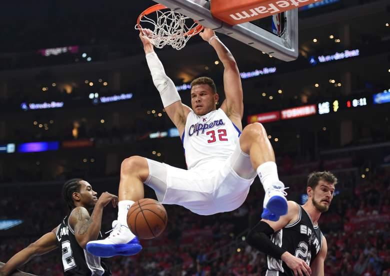 Blake Griffin dunk, Blake Griffin clippers, Blake Griffin 2015