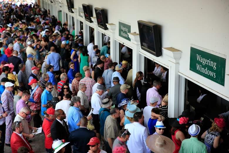 Kentucky Derby betting windows