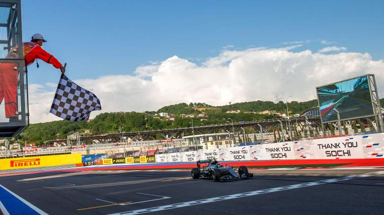 russian grand prix 2017, start time, tv channel, live stream, how, when, where to watch