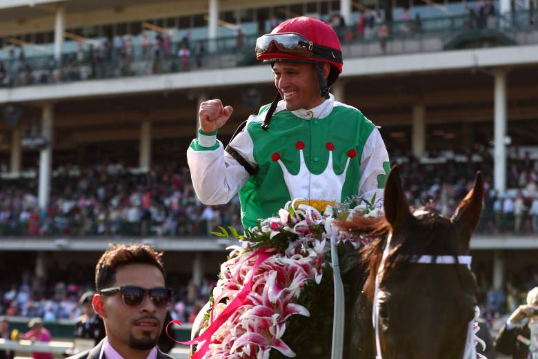 Javier Castellano wins the 2016 Kentucky Oaks