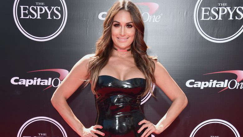 Nikki Bella Red carpet, Nikki Bella ESPYS, nikki bella ESPYS red carpet