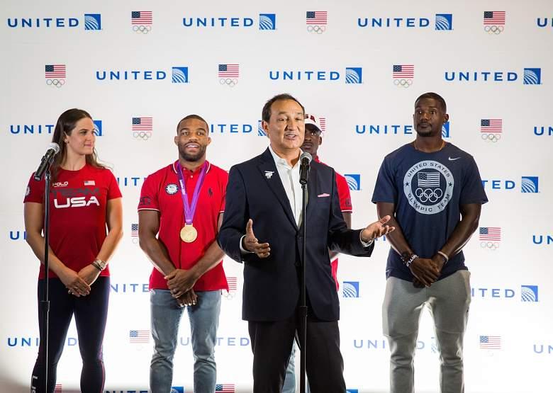Oscar Munoz Team USA, Oscar Munoz United, Oscar Munoz Olympics