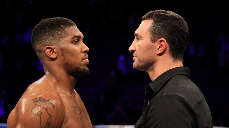 anthony joshua vs wladimir klitschko, joshua vs klitschko odds, joshua vs klitschko prediction