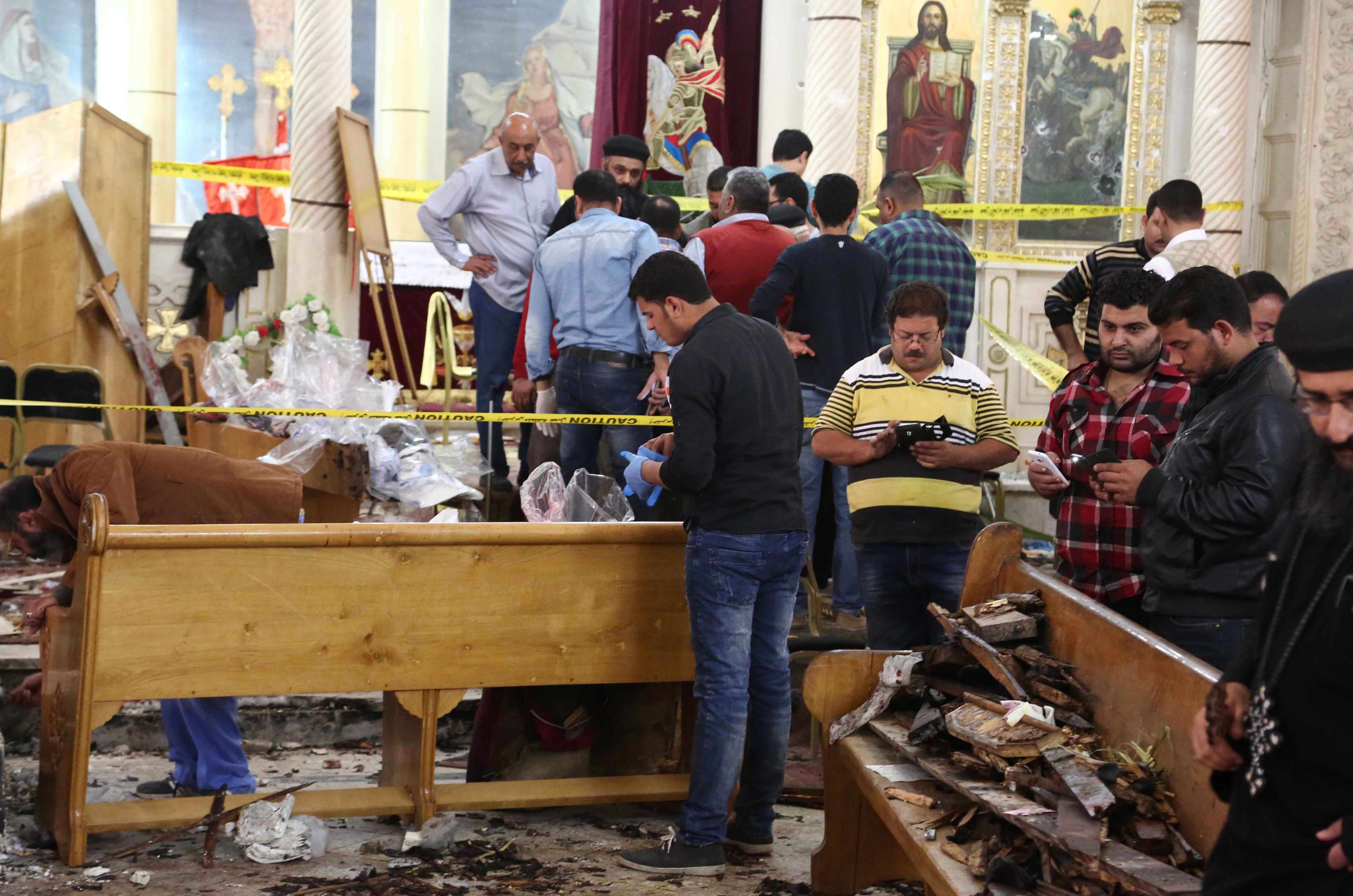 egypt coptic church bombings, egypt church bombings isis