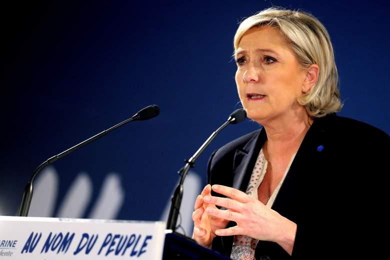Marine Le Pen speech, Marine Le Pen campaign speech, Marine Le Pen campaign rally