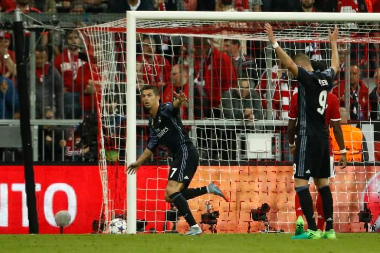 real madrid vs. bayern munich, who won champions league match, goals, highlights
