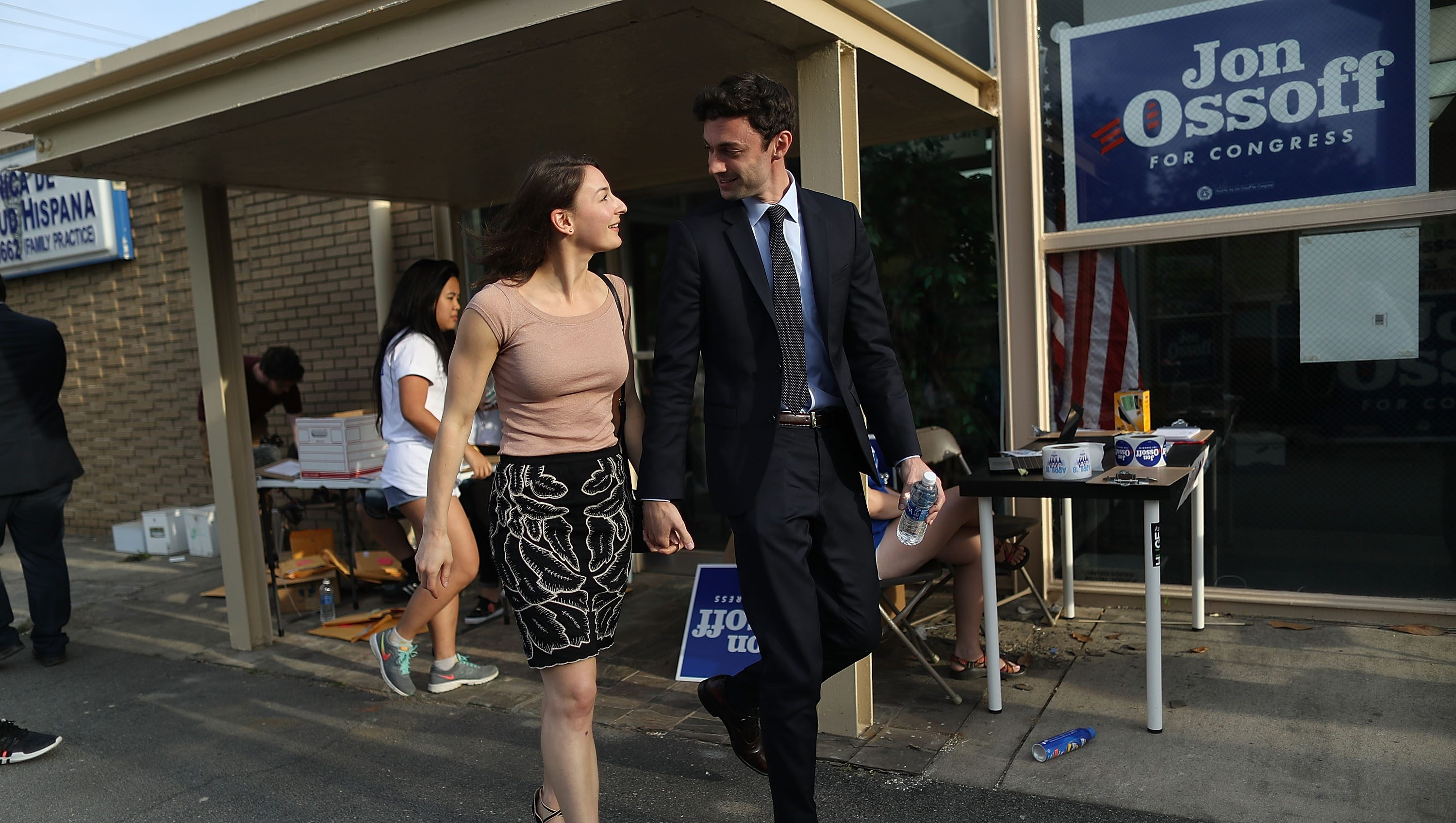 Jon Ossoff girlfriend, Jon Ossoff wife, Alisha Kramer