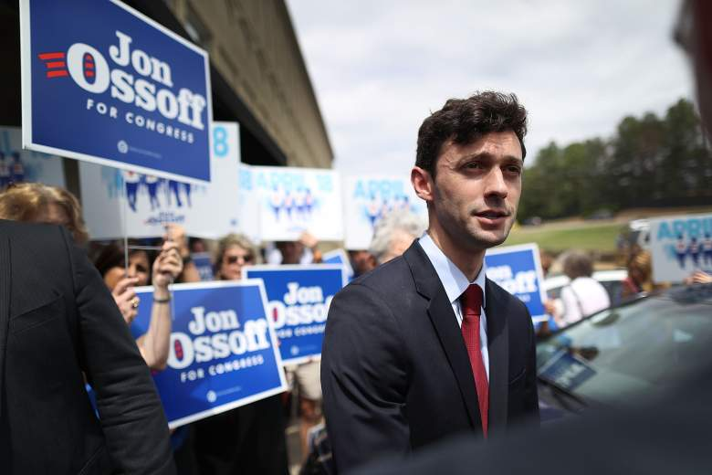 Jon Ossoff campaign headquarters, Jon Ossoff election, Jon Ossoff press briefing