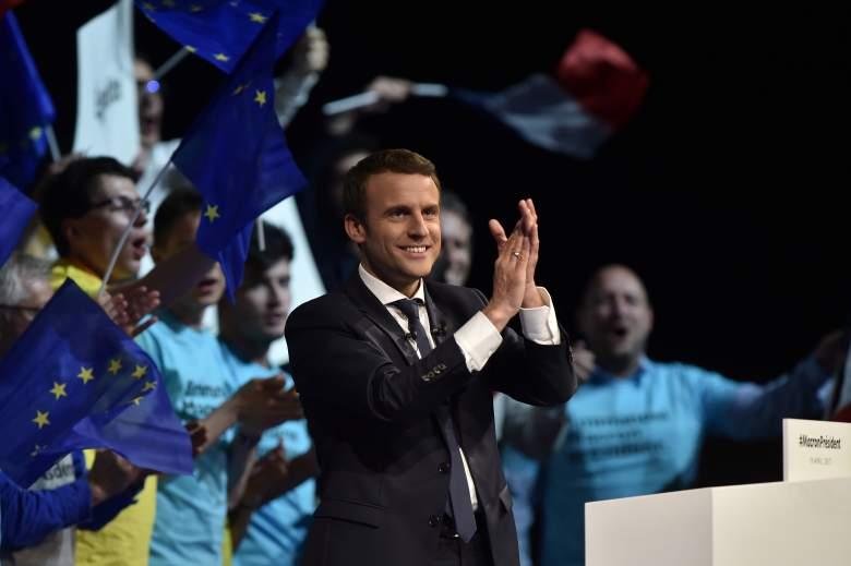 Emmanuel Macron rally, Emmanuel Macron speech, Emmanuel Macron campaign rally
