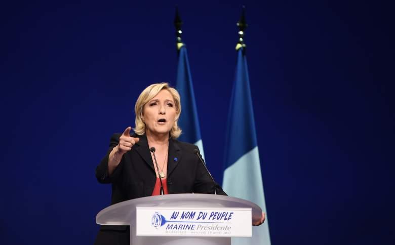 Marine Le Pen campaign, Marine Le Pen speech, Marine Le Pen campaign rally