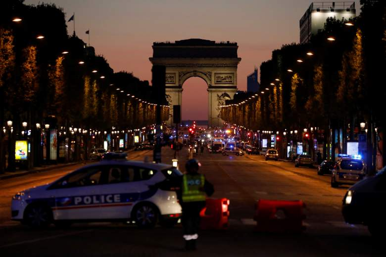 Champs-Elysees shooting, Paris shooting photos, Paris shooting videos