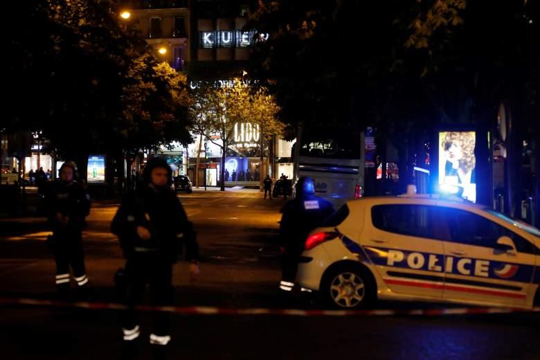 Champs-Elyseees shooting, Paris shooting photos, Paris shooting videos