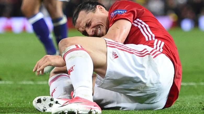 zlatan ibrahimovic injury, zlatan injury video, zlatan knee injury, status, timetable, acl, mcl, watch