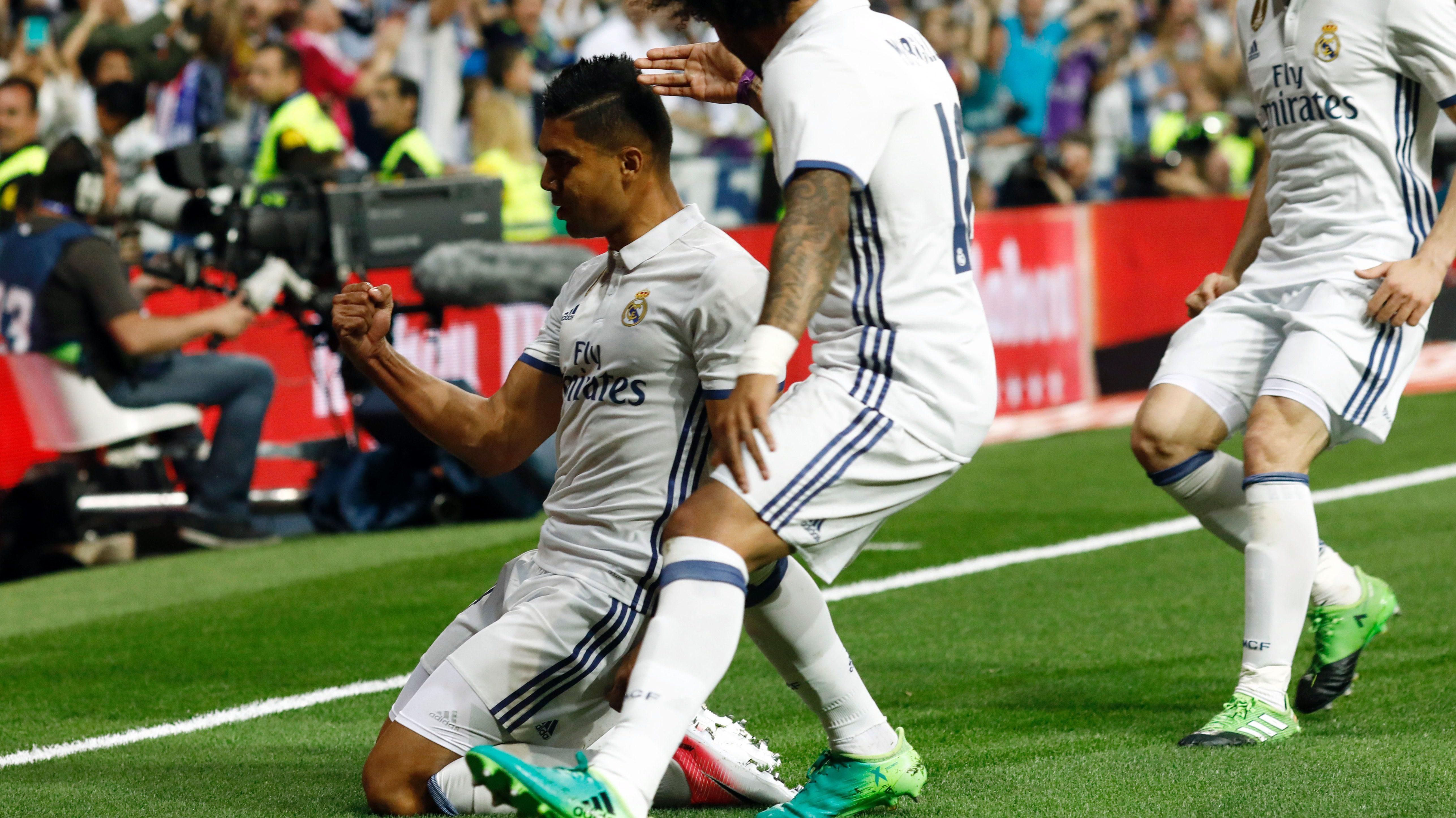 casemiro goal, el clasico goal video, real madrid el clasico goal video