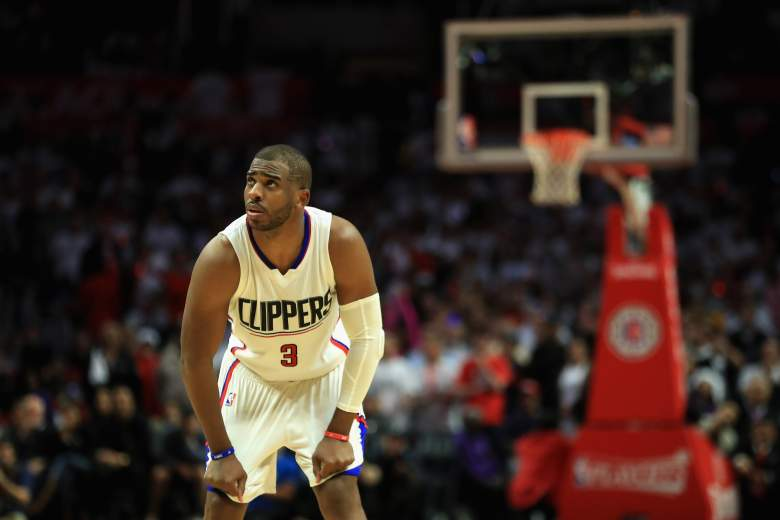 Chris Paul Game Five, Chris Paul Clippers, Chris Paul Los Angeles Clippers