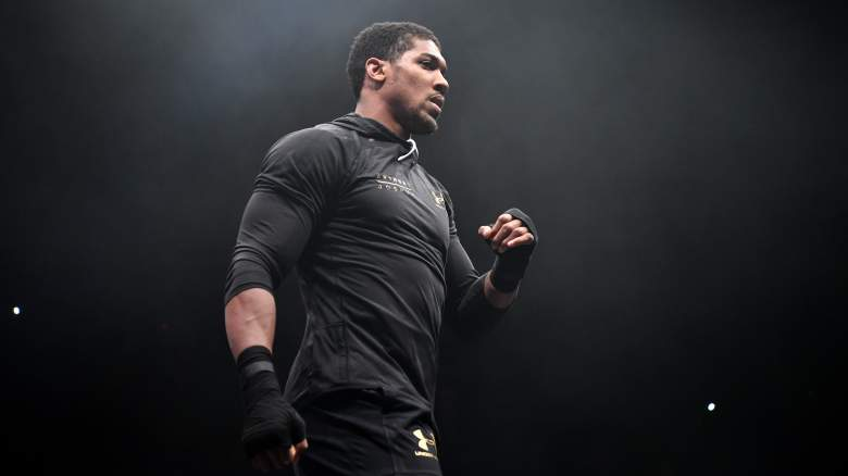 anthony joshua vs wladimir klitschko, tale of the tape, stats, record, age, height, reach