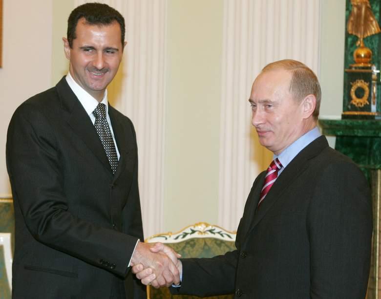Vladimir Putin and Bashar al-Assad, Syria Russia alliance