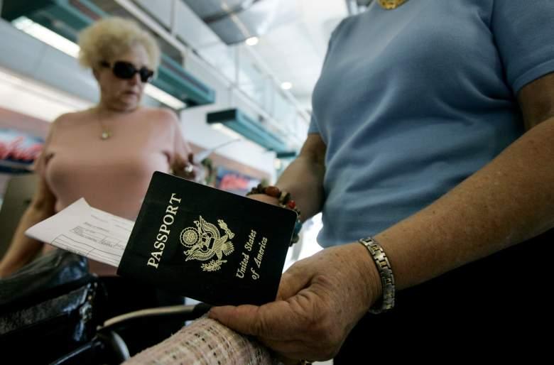 U.S. Passport, united states passport, passport at airport