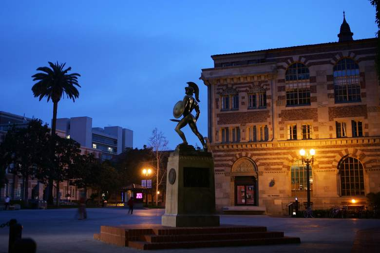 University of Southern California, USC, University of Southern California statue