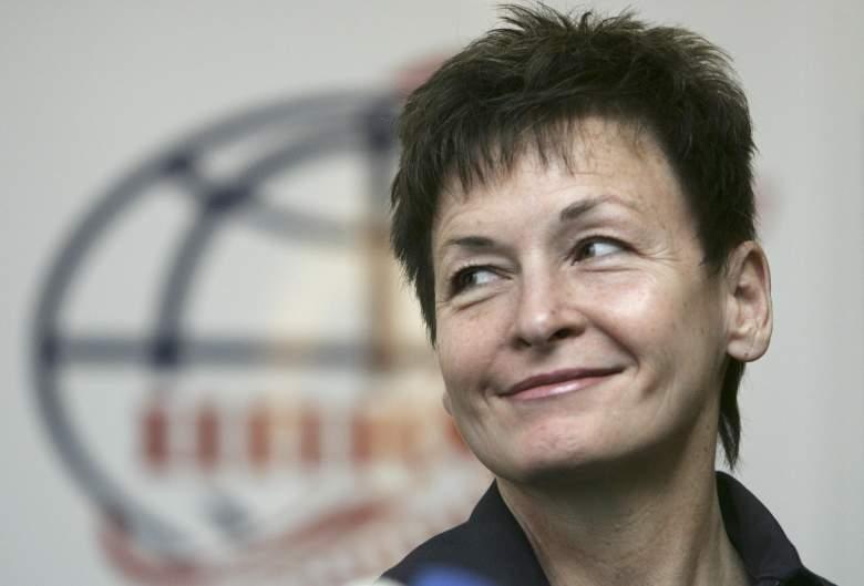 Peggy Whitson press conference, Peggy Whitson NASA, Peggy Whitson NASA astronaut