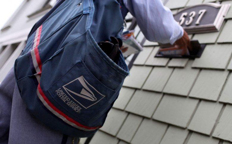 USPS mailbox, USPS worker, united states postal service