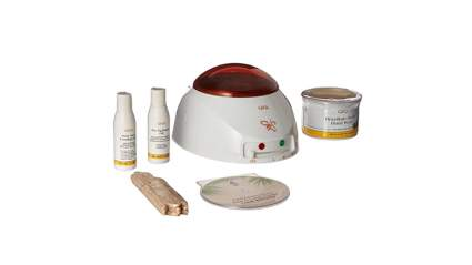 waxing kit, waxing at home, wax strips, hair removal wax