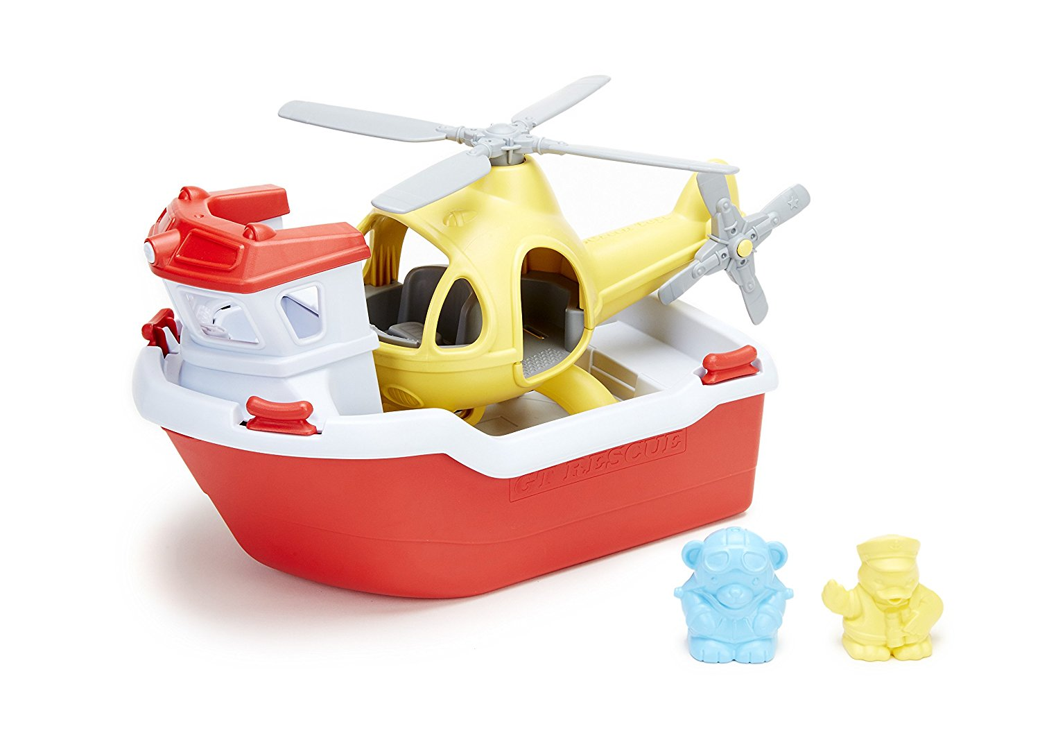 green toys rescue boat, helicopter bath toy, boat bath toy, baby bath toys